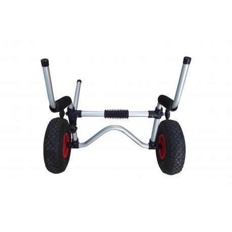 Kajak-Trolley mit Drainageloch-Halterung